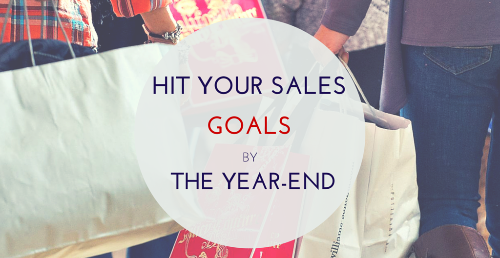 hit the year end sales