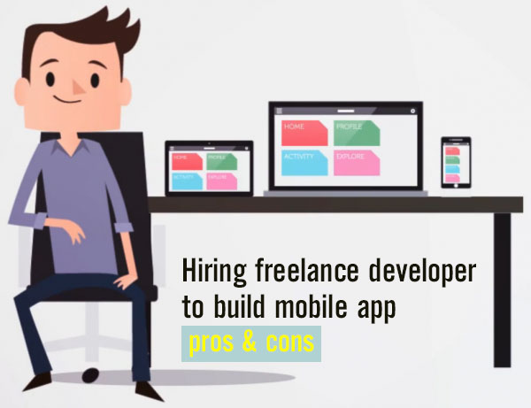 Pros & cons of hiring mobile developer to build mobile shopping apps