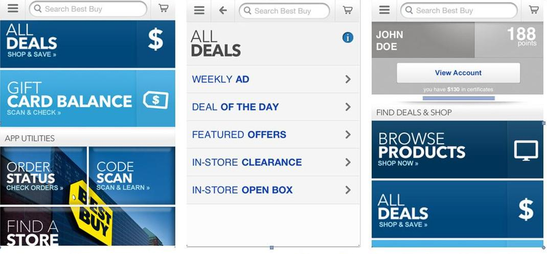 top 10 mobile shopping apps builder - Bestbuy
