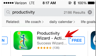 10-productivity-wizard-in-app-store- SEO app