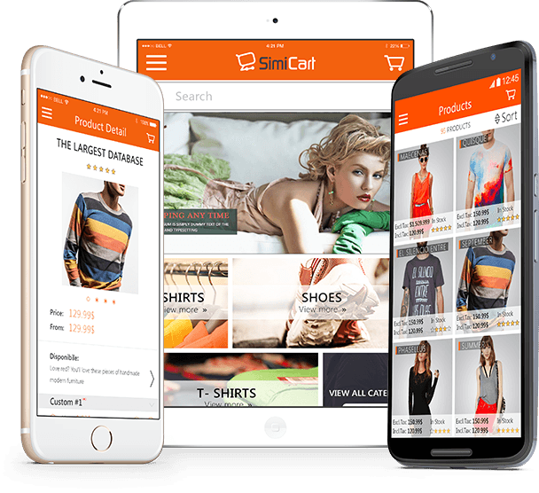 Simicart - The best mobile shopping apps for your businees.