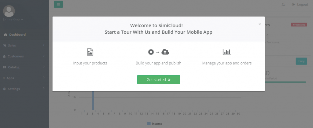 Product updates Building mobile apps without a website? Do it on SimiCloud!
