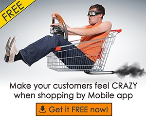 free mobile shopping application builder