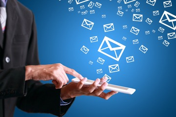 Email marketing for mobile sales app