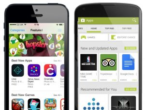 The store interface: what is best mobile app store