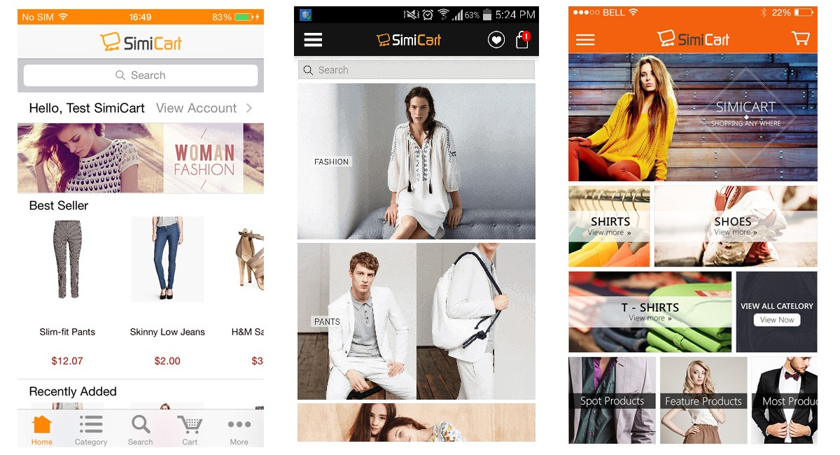 8 surprise facts why you have to create e commerce android app create e commerce android app simicart ccuart Choice Image