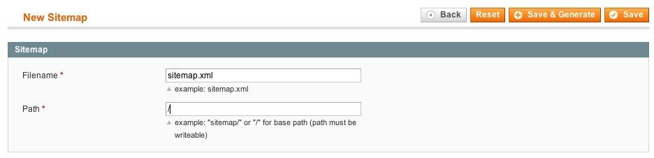 Errors in Magento SEO: XML Sitemap