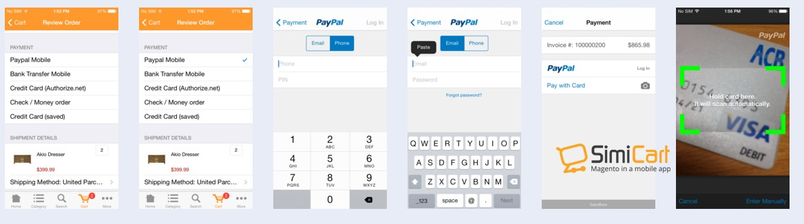 PayPal Express Checkout Mobile: All-in-one solution