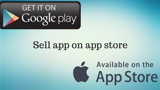 Sell app on app store