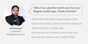 boost sales with mobile app