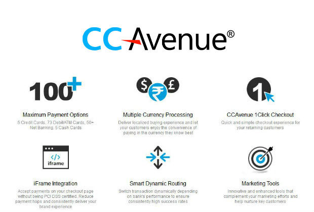 payment gateways for mobile apps CCAvenue