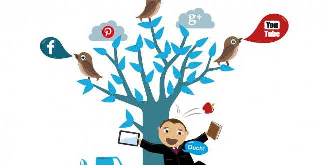 promote mobile shopping experience via social media