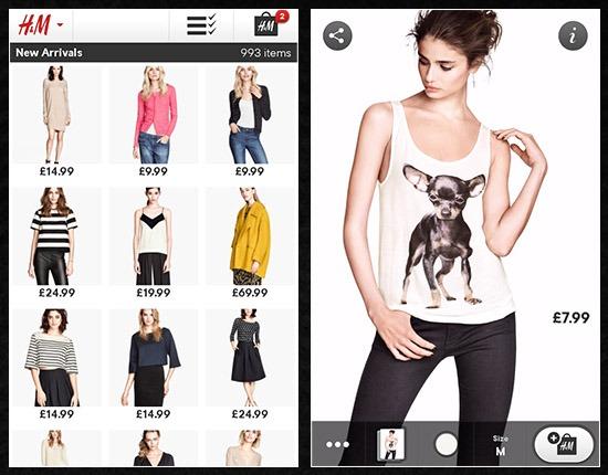 Fashion shopping app 3