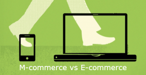 M-commerce vs Ecommerce