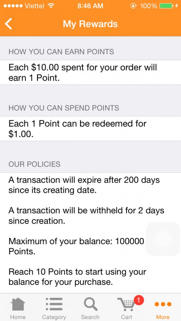 my-rewards-page-magento-reward-points