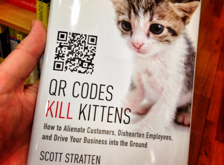 Mobile Marketing Failure:Using QR codes for no good reason