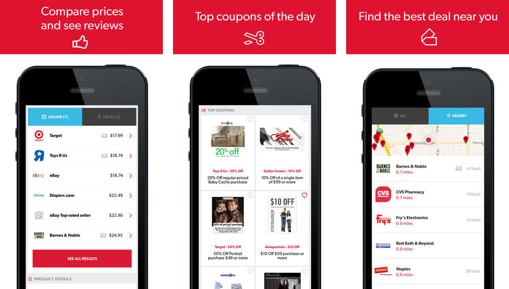 red laser- best mobile shopping app