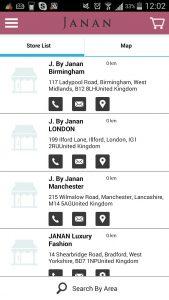 Simicart store locator list