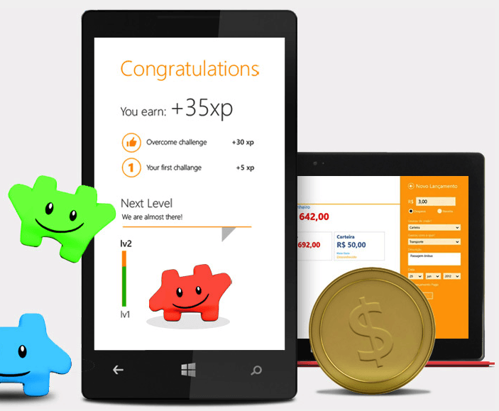 Magento shopping app gamification: offer big achievement and reward