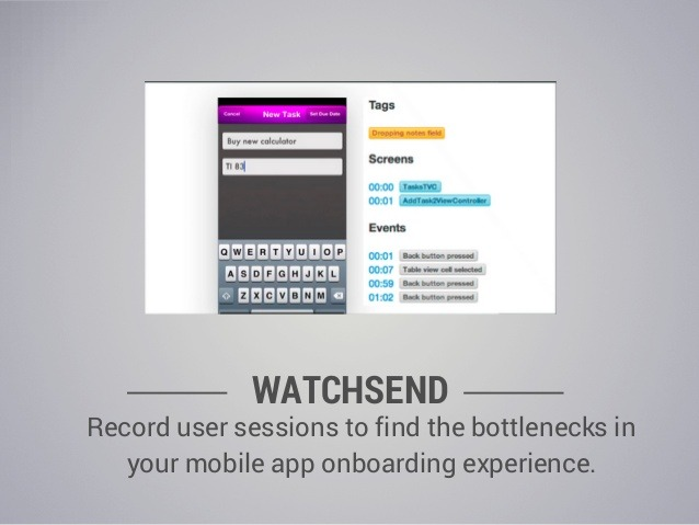 watchsend one of the most popular mobile usability testing tools