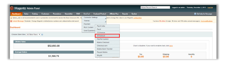 Step 2 - How to configure 2Checkout plugin