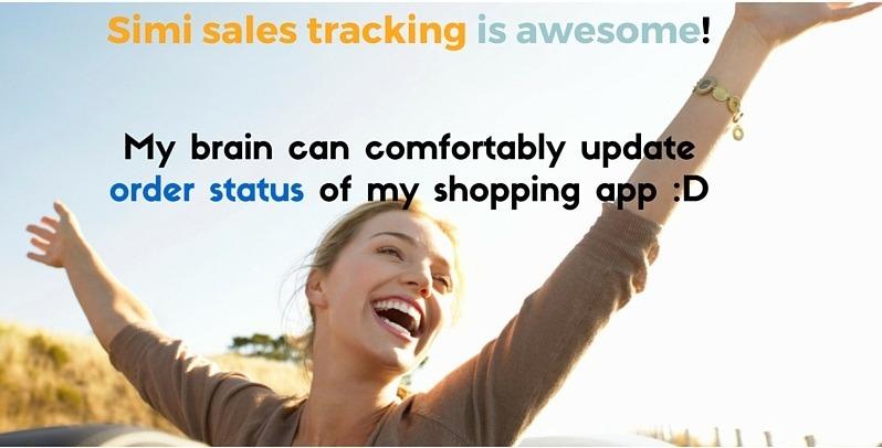 simi sales tracking for fashion shopping app 2