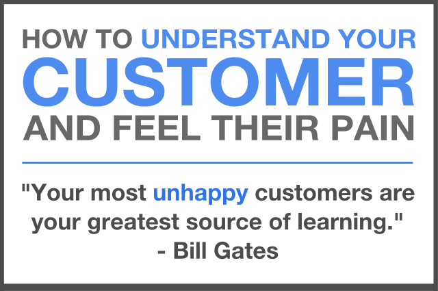 how to improve business sales understand customers