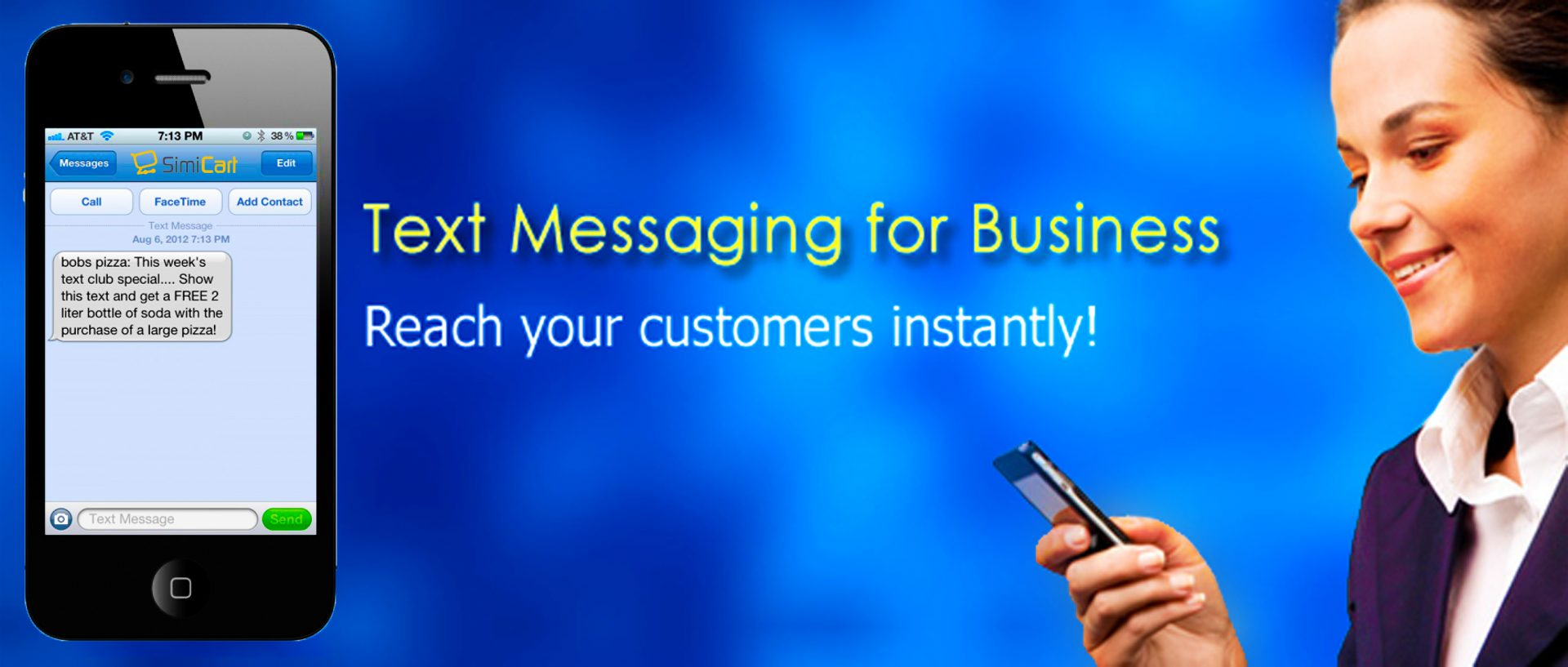 how to improve retail sales sms