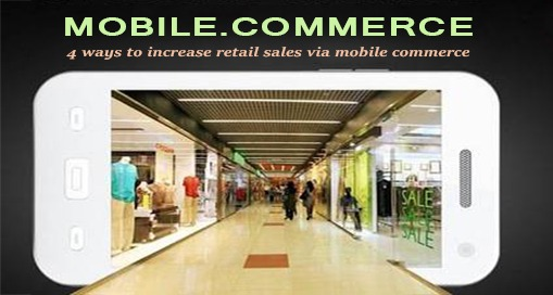 ways to increase retail sales via mcommerce