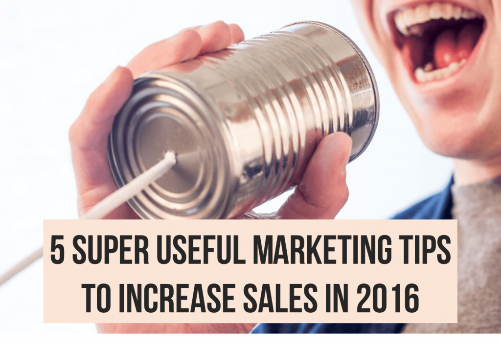 marketing tips to increase sales