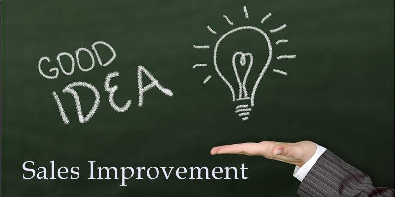 Sales Improvement Ideas