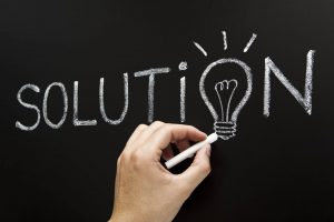focus on solution to increase sales